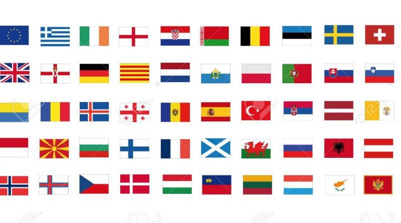 ევროპის ქვეყნების დროშები
