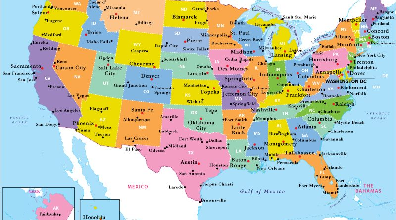აშშ-ს ყველა შტატი – ანბანის მიხედვით